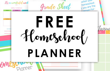 Best Homeschool Planner Free Printable Bless My Budget